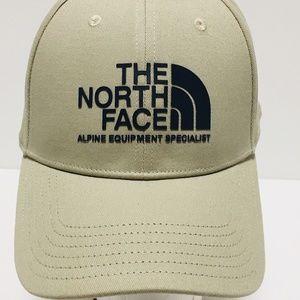 THE NORTH FACE Baseball Cap Hat KHAKI One Sz NWT